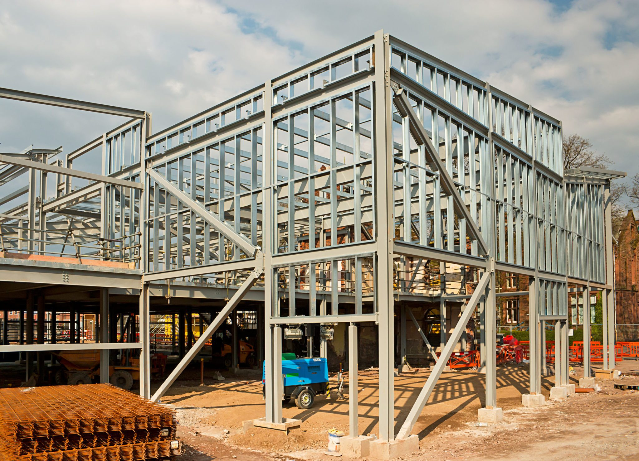 Steel Building Construction : Metal building prices steel packages