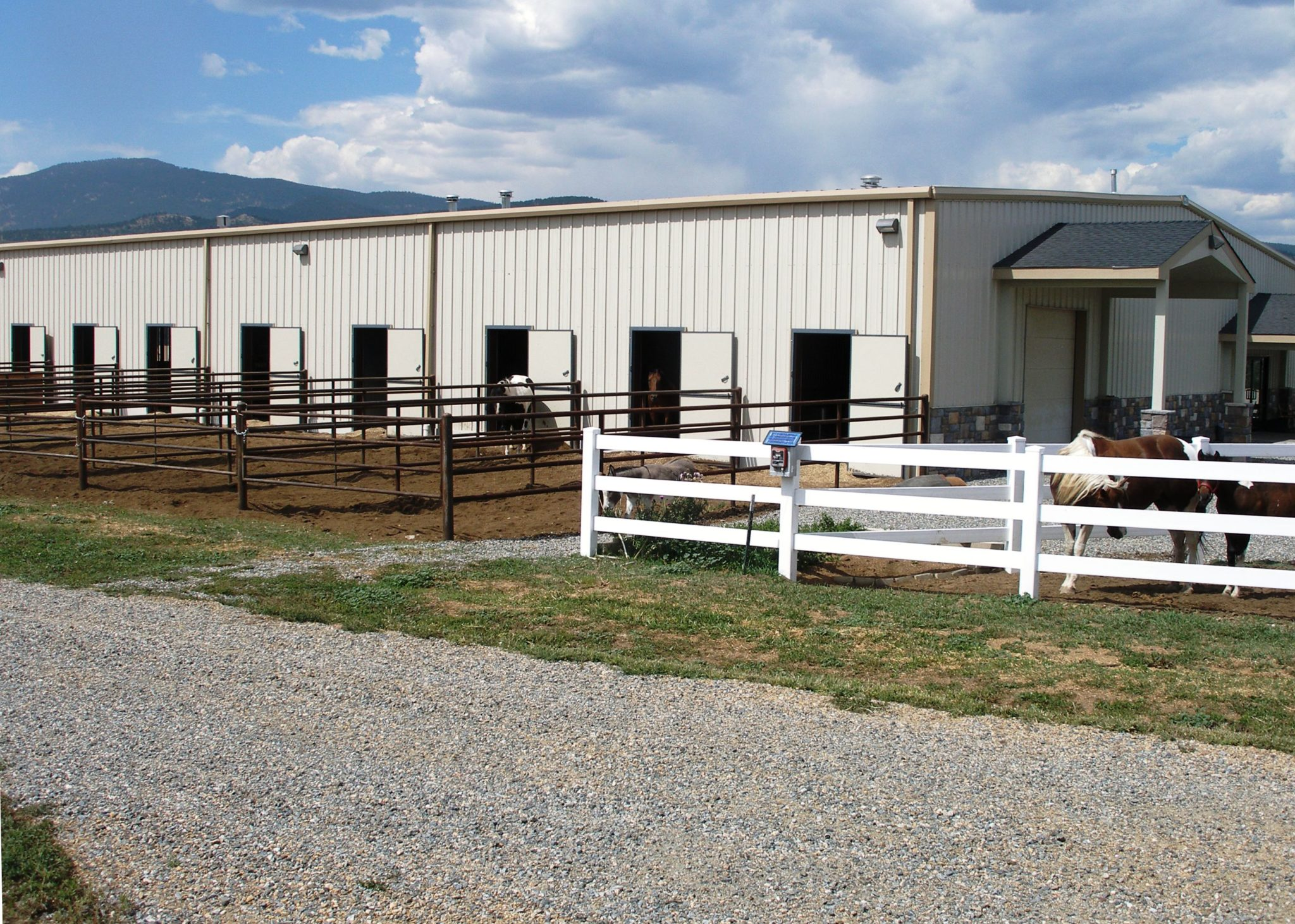 Steel Riding Arenas Metal Horse Barns