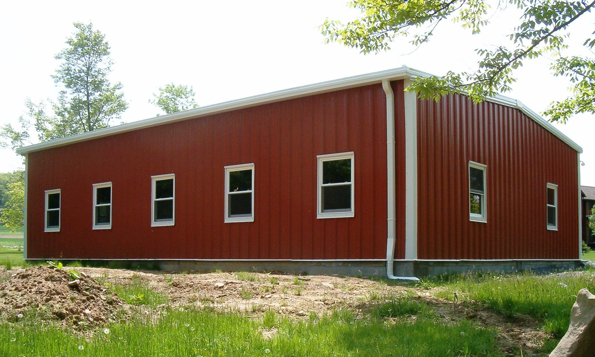 Building Metal Finishes : Steel building specifications panel finishes color
