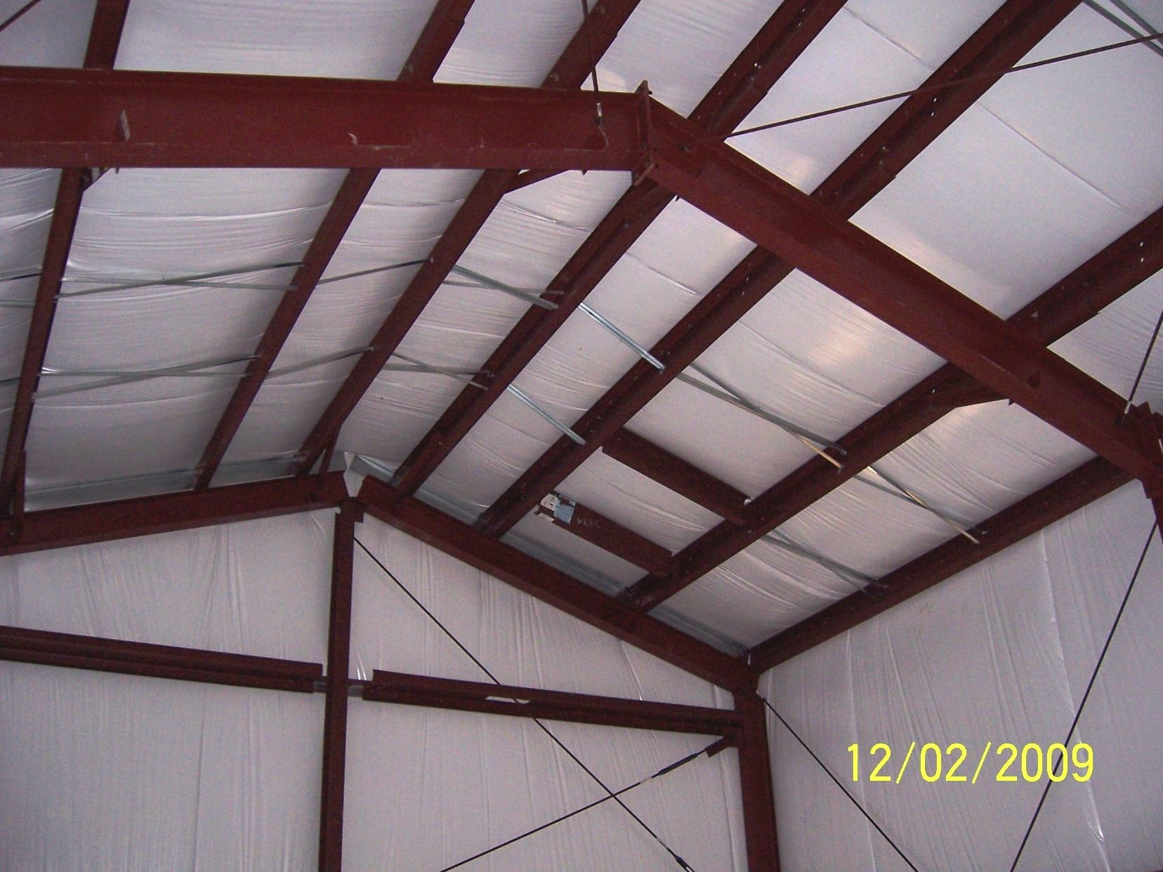 Metal Building Insulation Panels : Metal steel building insulation made in denver colorado