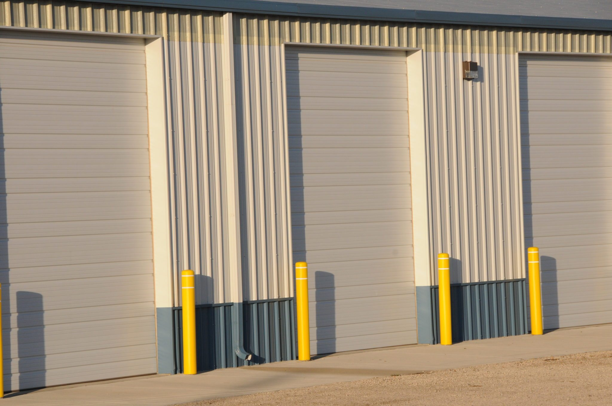 Door track with metal building hardware and weatheru2010strip for top and jambs is included with every door ordered from CSBC. & Overhead Doors - Roll-up Doors