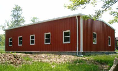 utility steel building