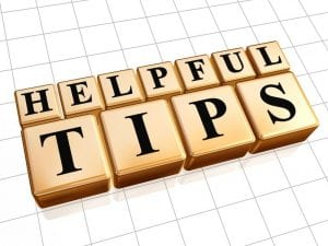 Helpful Planning Tips