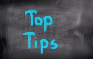 4 Top Tips