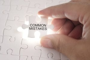 Common Mistakes Made