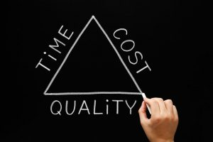 Time Cost Quality Of A Steel Building