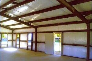 Metal Building Interior Upgrades