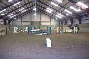 metal barns insulated riding arena